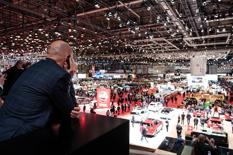 The 2019 Geneva International  Motor Show - Samuel Zeller for the New York Times
