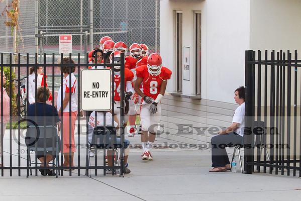 Wekiva Mustangs @ Boone Braves Varsity Football  - 2012
