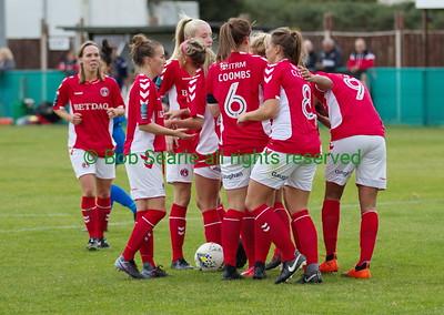 Charlton Athletic Womens VS Lewes FC  30th Sep 2018