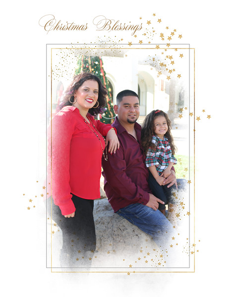 Natalie Martinez Delado and family