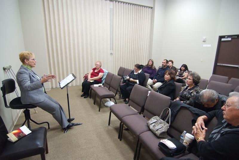 Sunday School class with Elane Garecht