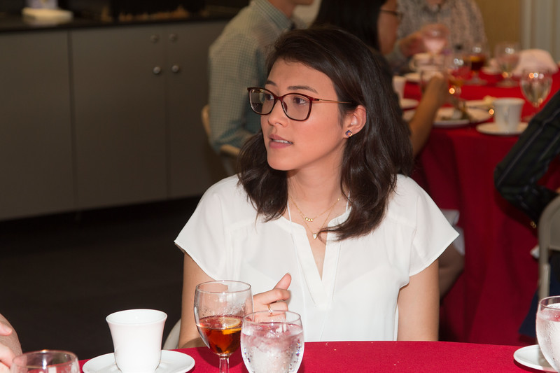 "Stela Ishitani Silva -- An award luncheon, ""Dr. John Mather Nobel Scholars Program Award"", as part of the National Space Grant Foundation. College Park Aviation Museum, College Park, MD, August 2, 2019."