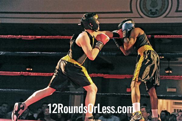 Bout # 7 Al Pugh(West Side BC-Cleve, OH)-vs-Jason Devengenice(Warren BC-Warren, OH) 141 pounds