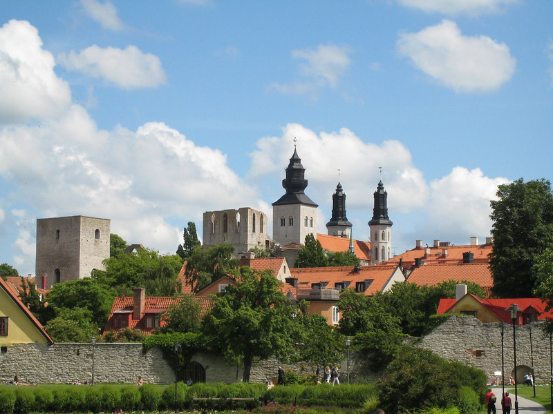 Visby - the Church of St. Mary