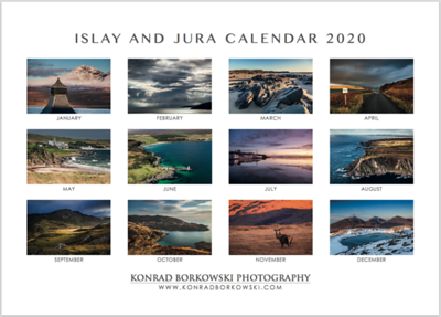 ISLAY AND JURA 2020 CALENDAR - NEW!