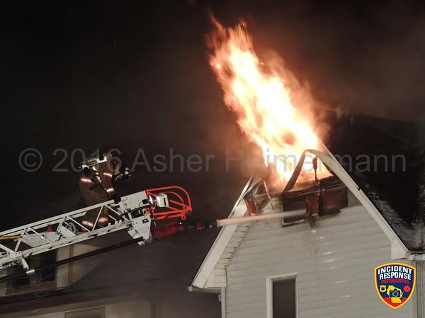 House fire on January 26, 2016