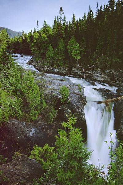 Chute Sainte-Anne - Parc national de la Gaspésie, Québec
