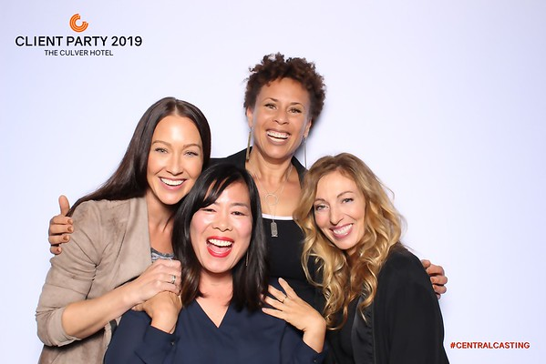 Central Casting Client Party 2019 (SkinGlow Booth + GIF)