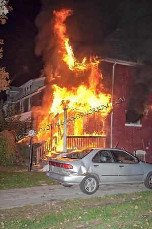 Detroit Dwelling Fire 2994 Cadillac Blvd