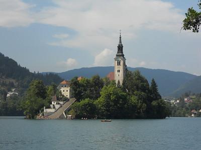 July, 2010: Slovenia, Austria, Italy
