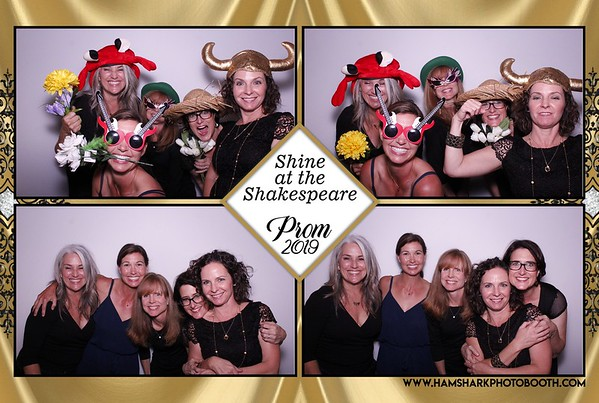 Shine at the Shakespeare Prom 2019