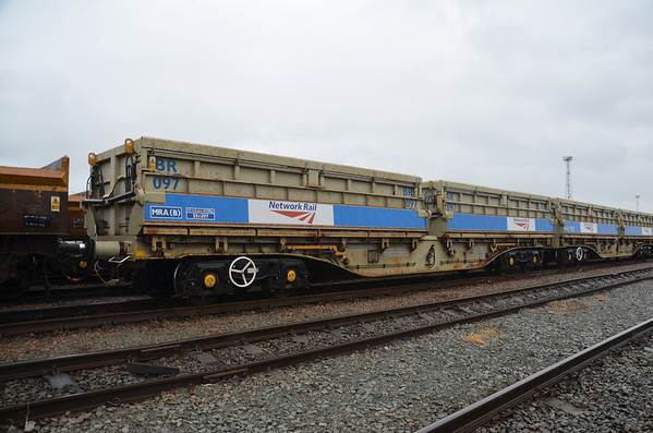 MRA-B - Bogie Side Tipping Ballast Wagon (Outer)