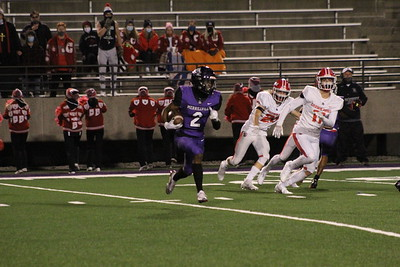 FOOTBALL SECTIONALS Crown Point VS Merrillville 2020