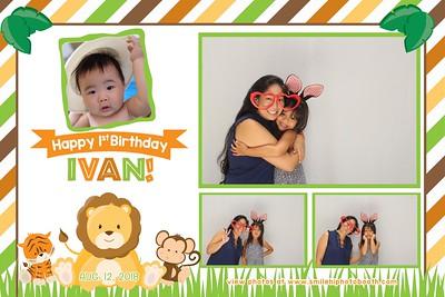Ivan's 1st Birthday