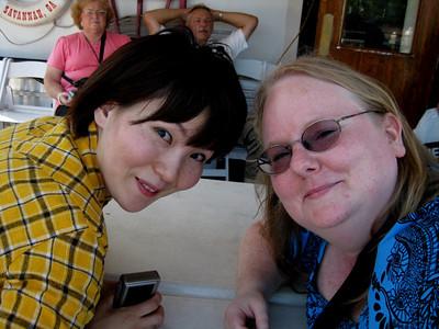 Savannah with Yoko - September 2010