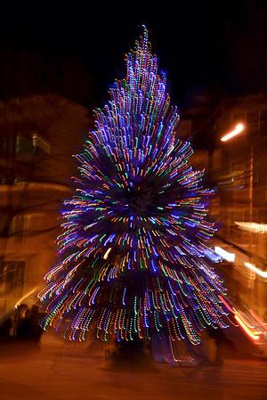 Holiday Tree Lighting 2012 - Loveland, CO