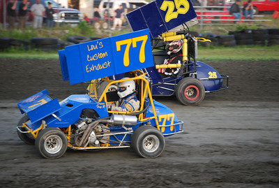 Canaan Dirt Speedway 06/12/2009