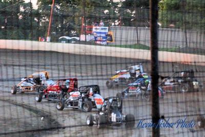 ARDC Midgets at Grandview Speedway  6-22-14