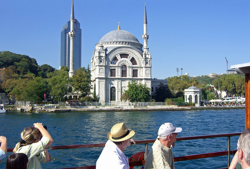 20-The Bosphorus at Ortaköy: Buyuk Mecidiye Mosque