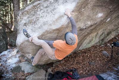 Pawtuckaway Climbing 3/6/16
