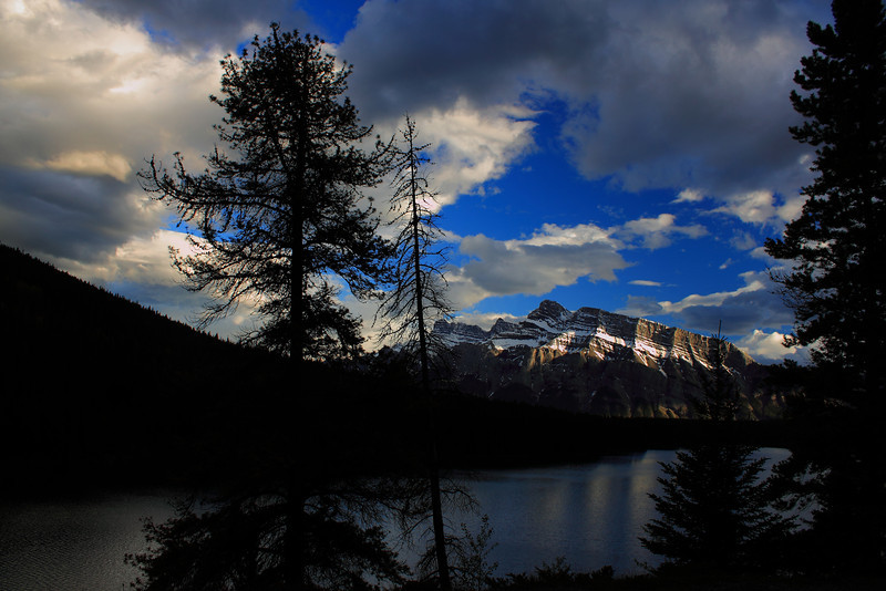 """Rundle in the Light"" - Banff Alberta"