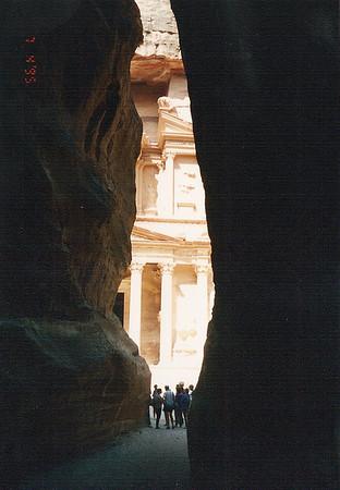 Jordan & Israel, July 1995