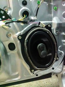 2013 Toyota Camry Atara SX Front Door Speaker Installation - Australia