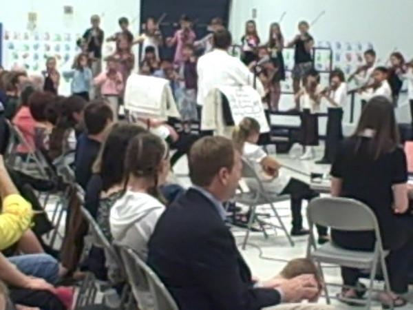 4th Grade Strings Concert April 2009