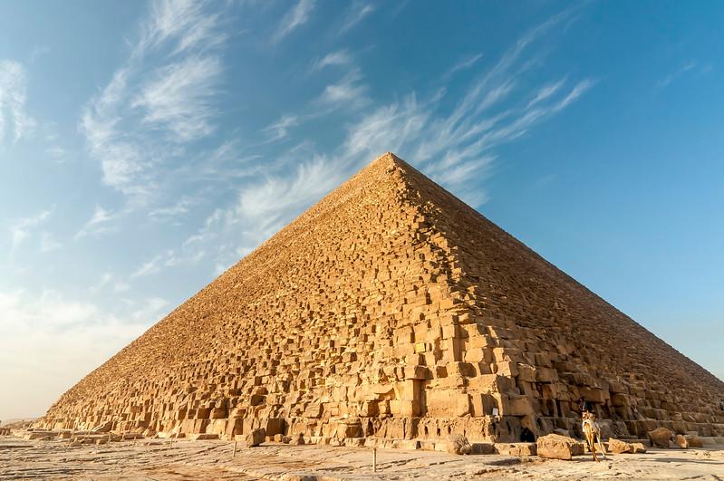 Pyramid of Khufu (Cheops), Giza