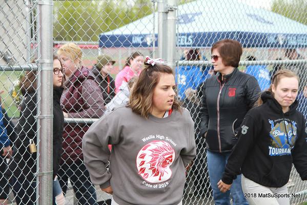 Valley Softball Senior Nights 5-16,18-2018