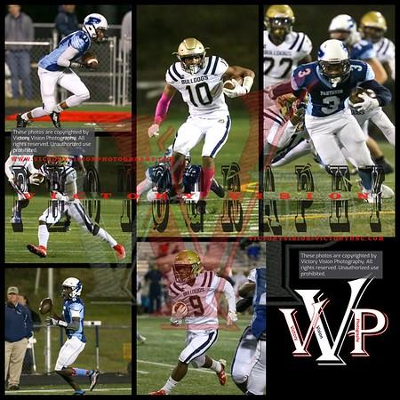 CD Hylton @ Potomac Varsity Boys Football 10-12-18