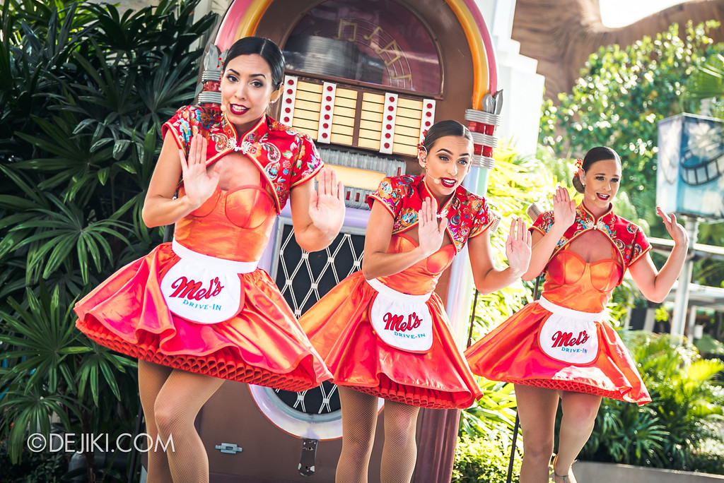Universal Studios Singapore Park Update February 2018 Chinese New Year - Mel's Dim Sum Dinettes shimmy