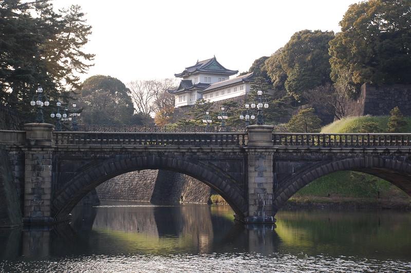 Tokyo Imperial Palace Seimon Ishibashi Bridge