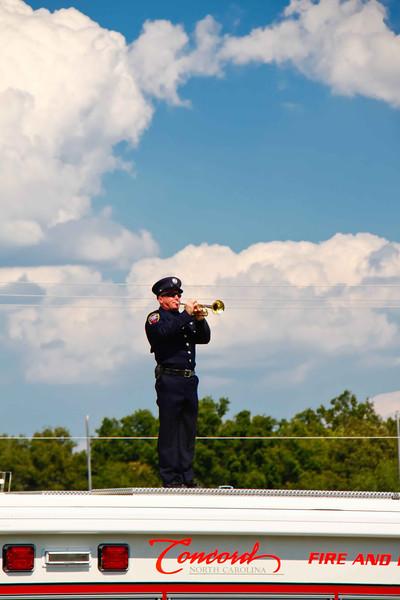 Presentation of Memorial Wreath, 21 Gun Salute, Taps