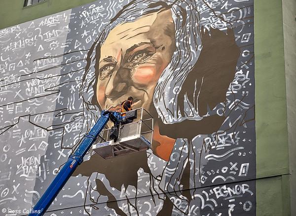 Rita Angus Mural 2019