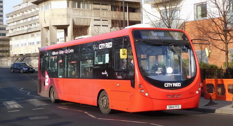 47608 - SN14FFO - Southampton (Blechynden Terrace)