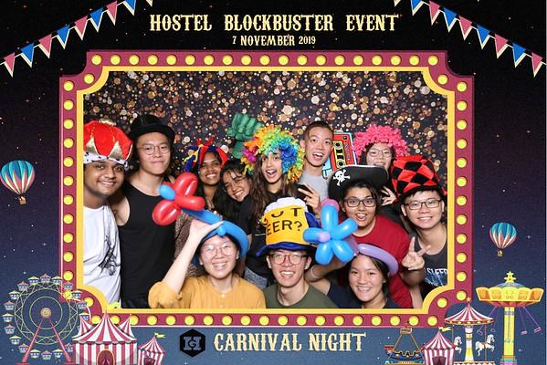 SUTD Hostel Blockbuster Event 2019