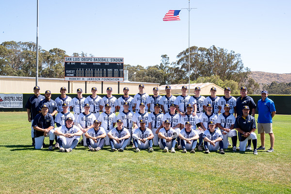 SLO Blues Picture Day and Batting practice 6/27/2018