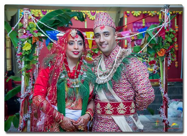Anup & Bibhusha's Wedding 2019