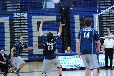 OE Varsity Boys Volleyball Vs. IMSA