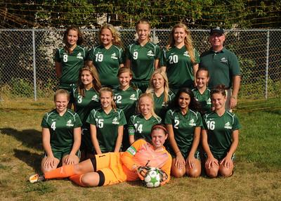 Girls Soccer Team Photos