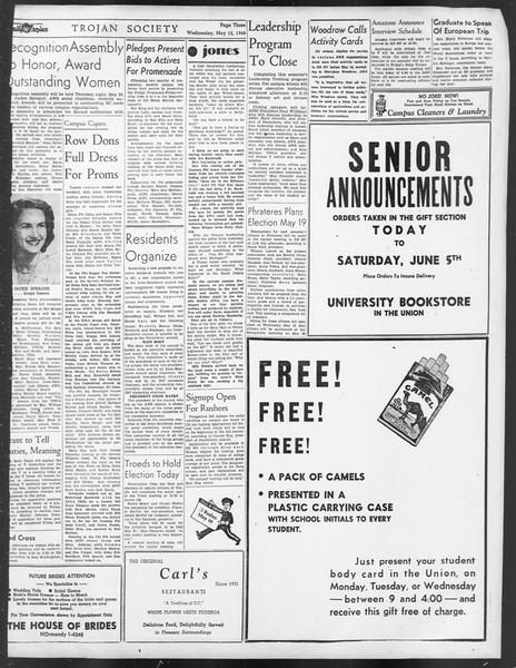 Daily Trojan, Vol. 39, No. 138, May 12, 1948