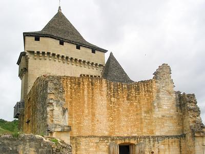 Castelnaud, July 2002