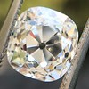 2.35ct Old Mine Cushion Cut, GIA J VS1 4
