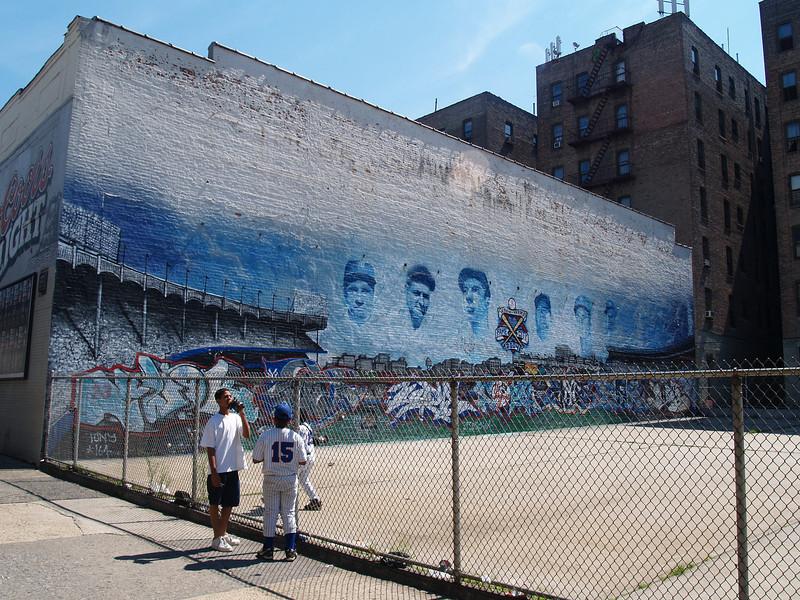 Yankee Legends across from stadium