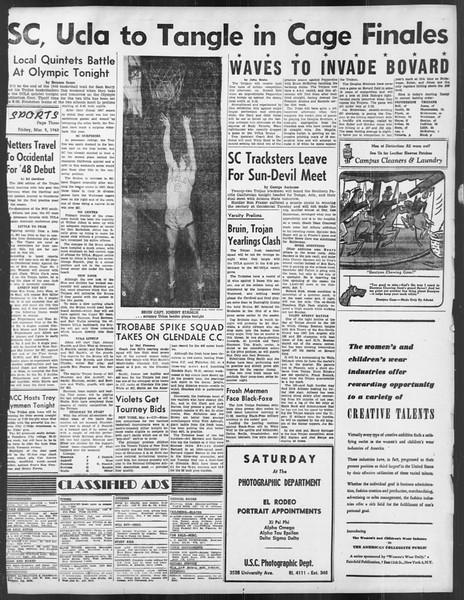 Daily Trojan, Vol. 39, No. 93, March 05, 1948