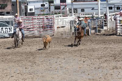 2014 Dayton Rodeo Team Roping - Monday