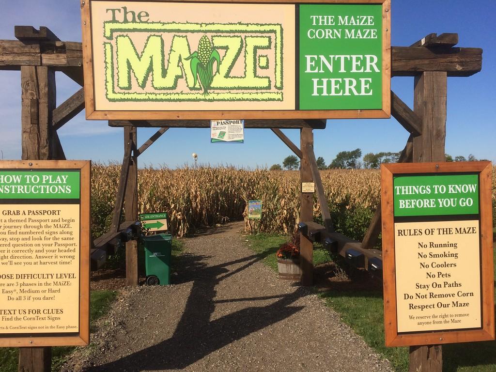 2014 Kuiper's Family Farm Maze