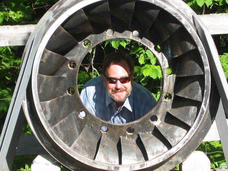 Bob wearing a Turbine
