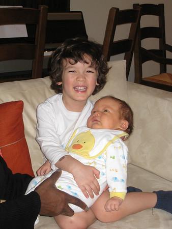 Dylan & Skylar--February 2010